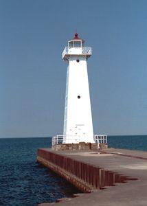 Sodus Point Outer #Lighthouse - #New #York http://dennisharper.lnf.com/