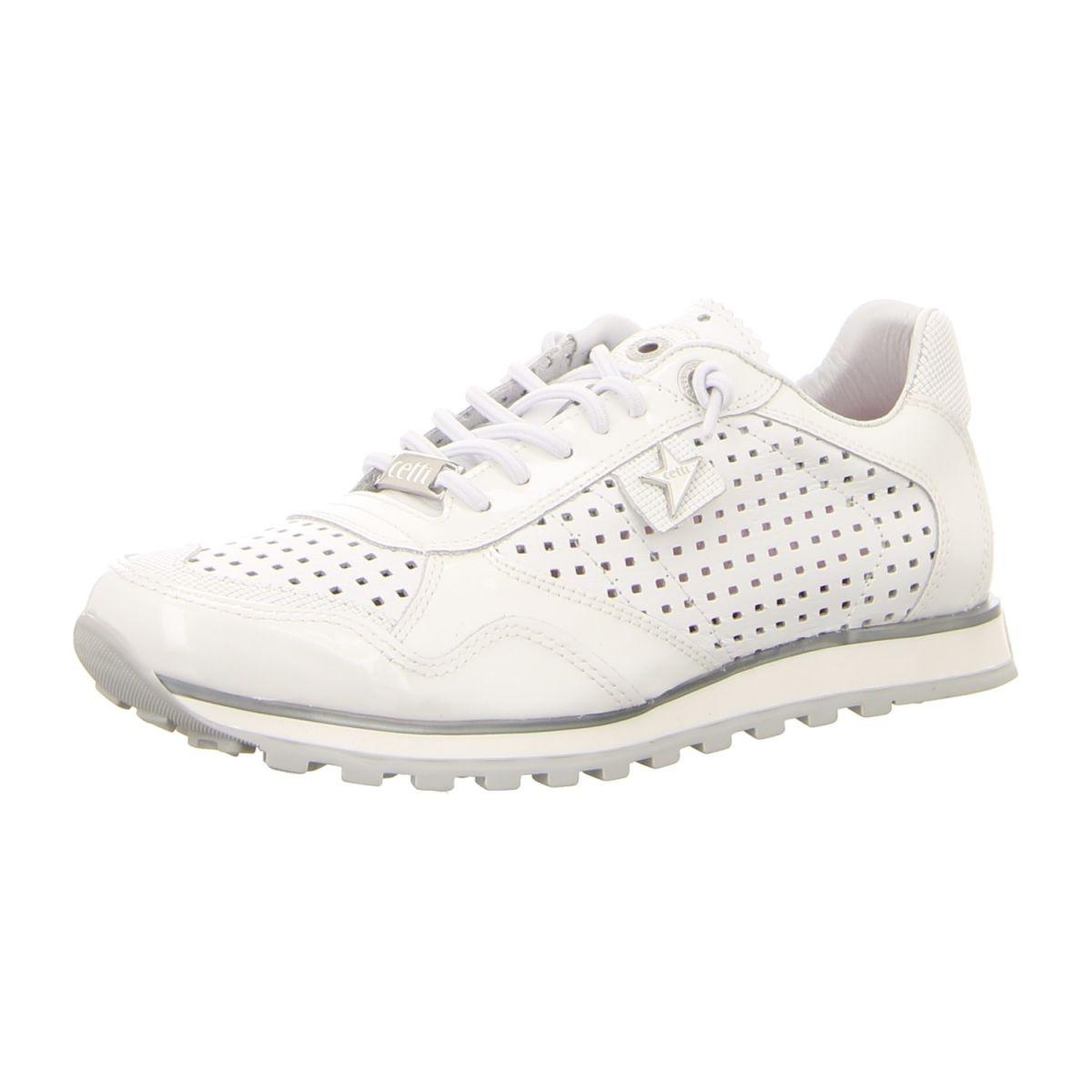 NEU: Cetti Sneaker C 848 SRA CHAROL SWEET BLANCO charol