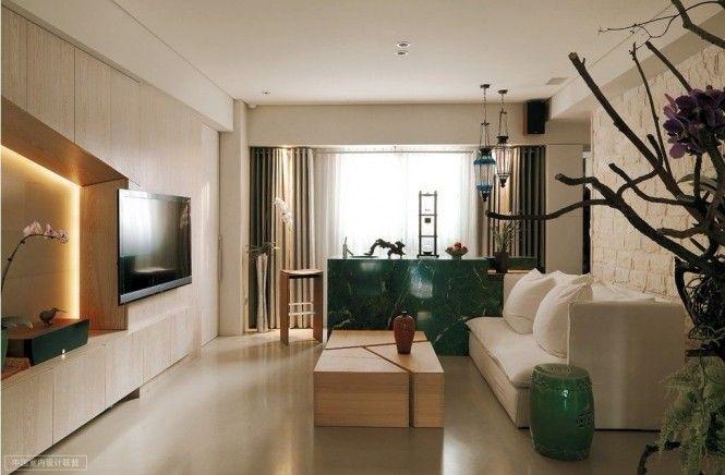 Modern Oriental Living Room Small House Interior Design Apartment Design Apartment Interior Design