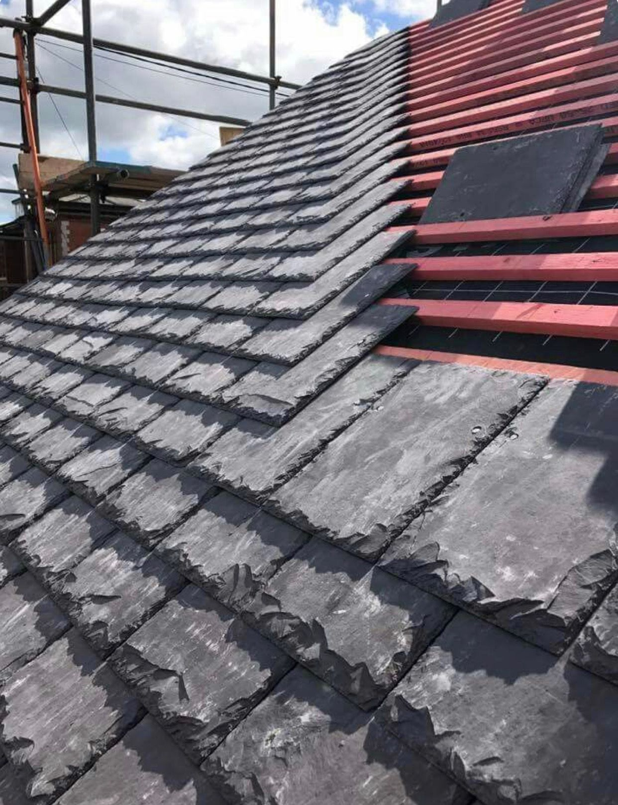 Pin By Ida Dral On Schuur Metal Roof Green Roof System Slate Roof