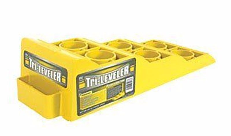 Camco Leveling Blocks Tri Leveler 3pcs Yellow Rv Leveling Blocks Rv Campers New Camco Car Ramps Rv Leveling Blocks Cool Campers