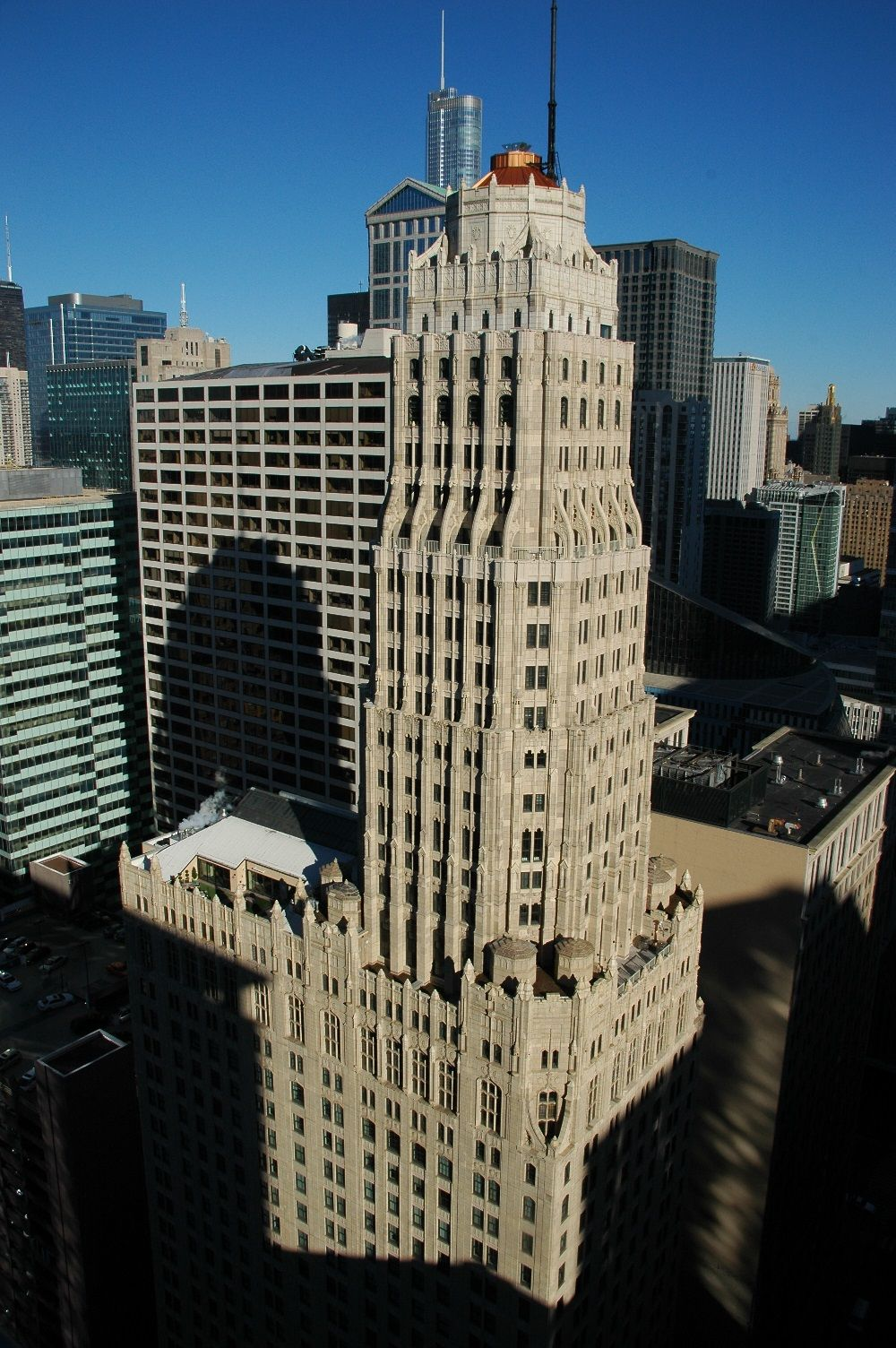 Randolph tower formerly known as the steuben club building is a historic gothic revival