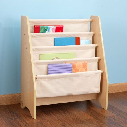 Kidkraft Hängefächerregal Naturell Haus Leni Kids Bookcase 4