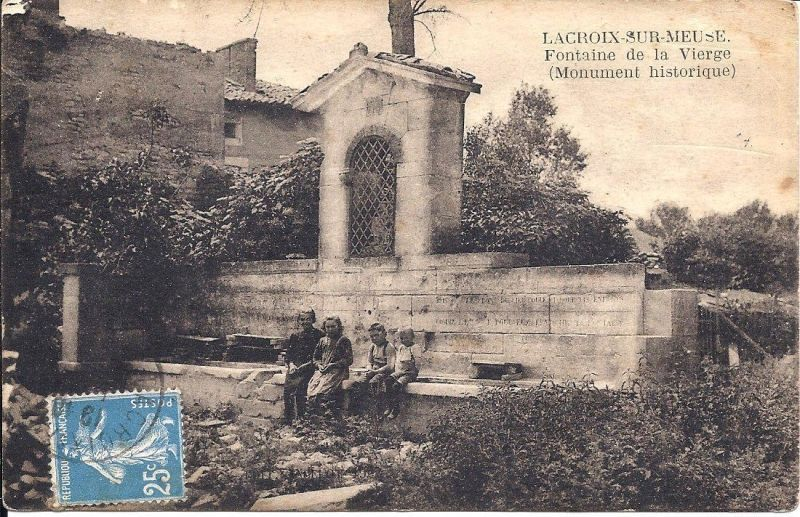 Carte Postale Lacroix Sur Meuse A Lacroix Sur Meuselacroix Sur