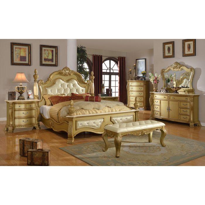 Youu0027ll love the Lavish Panel Customizable Bedroom