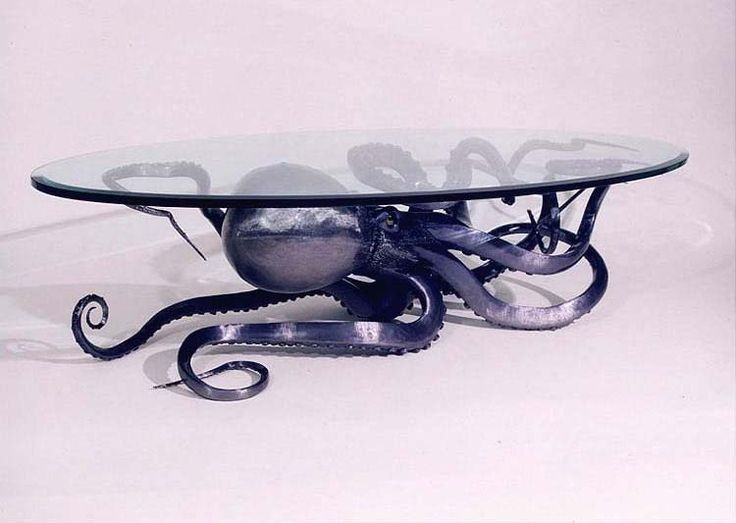 octopus table - forrai metal design | my eclectic chic niche