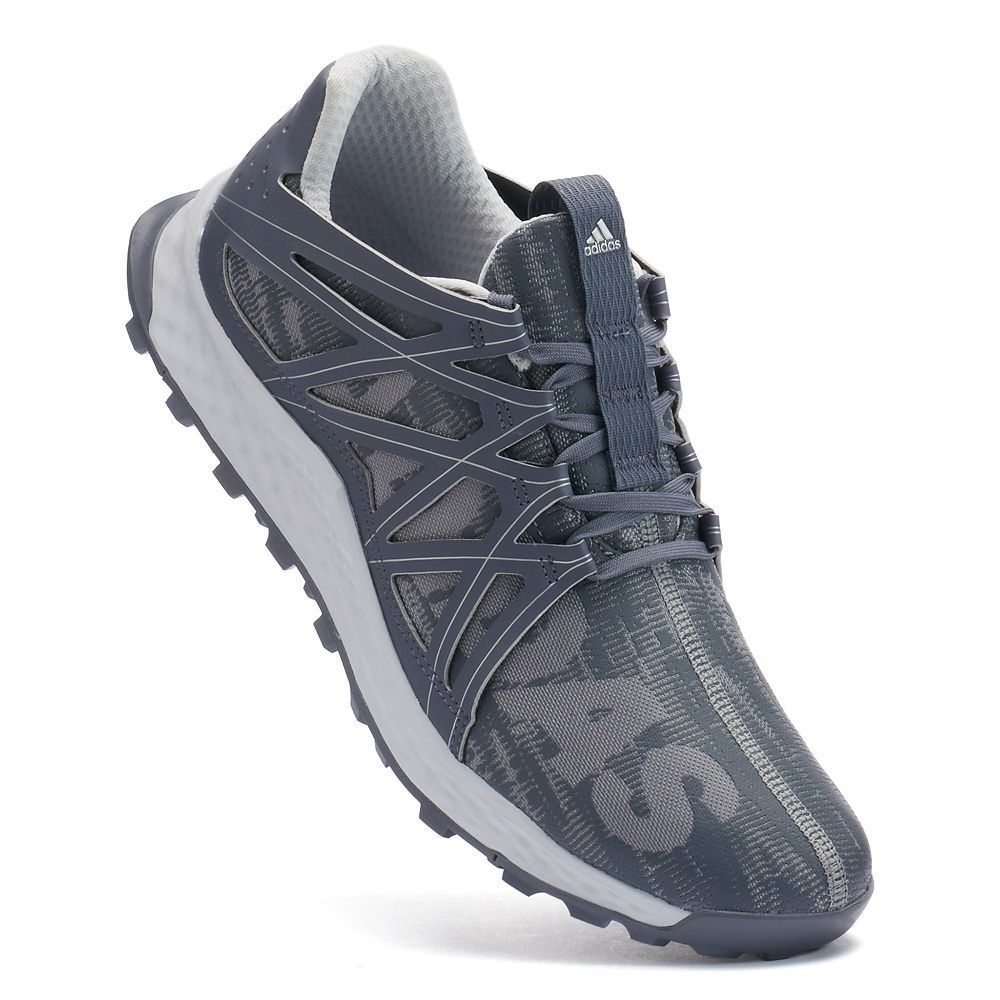 Adidas vigor Bounce hombres zapatillas de trail corriendo , tamaño:, gris