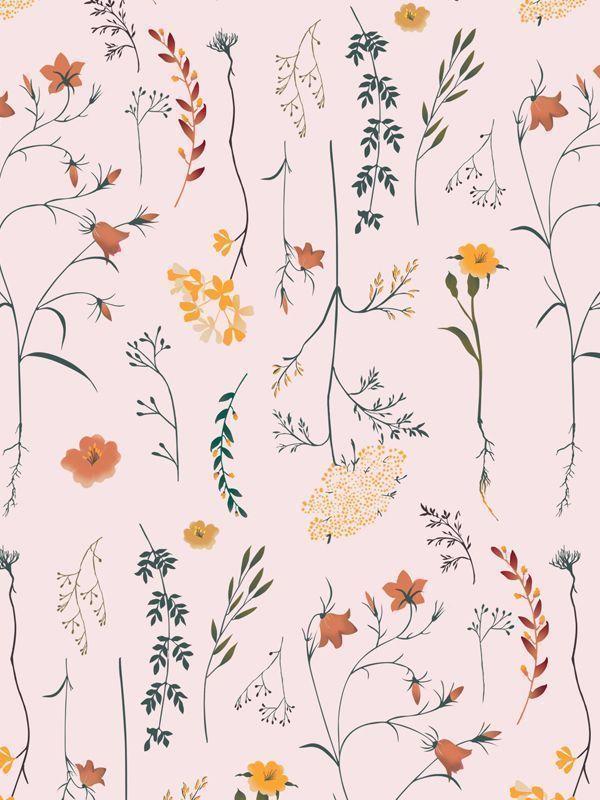 #flowers Print 2017©️️️️️️️️️️Axelle Goguet for Carlin Creative Tren…