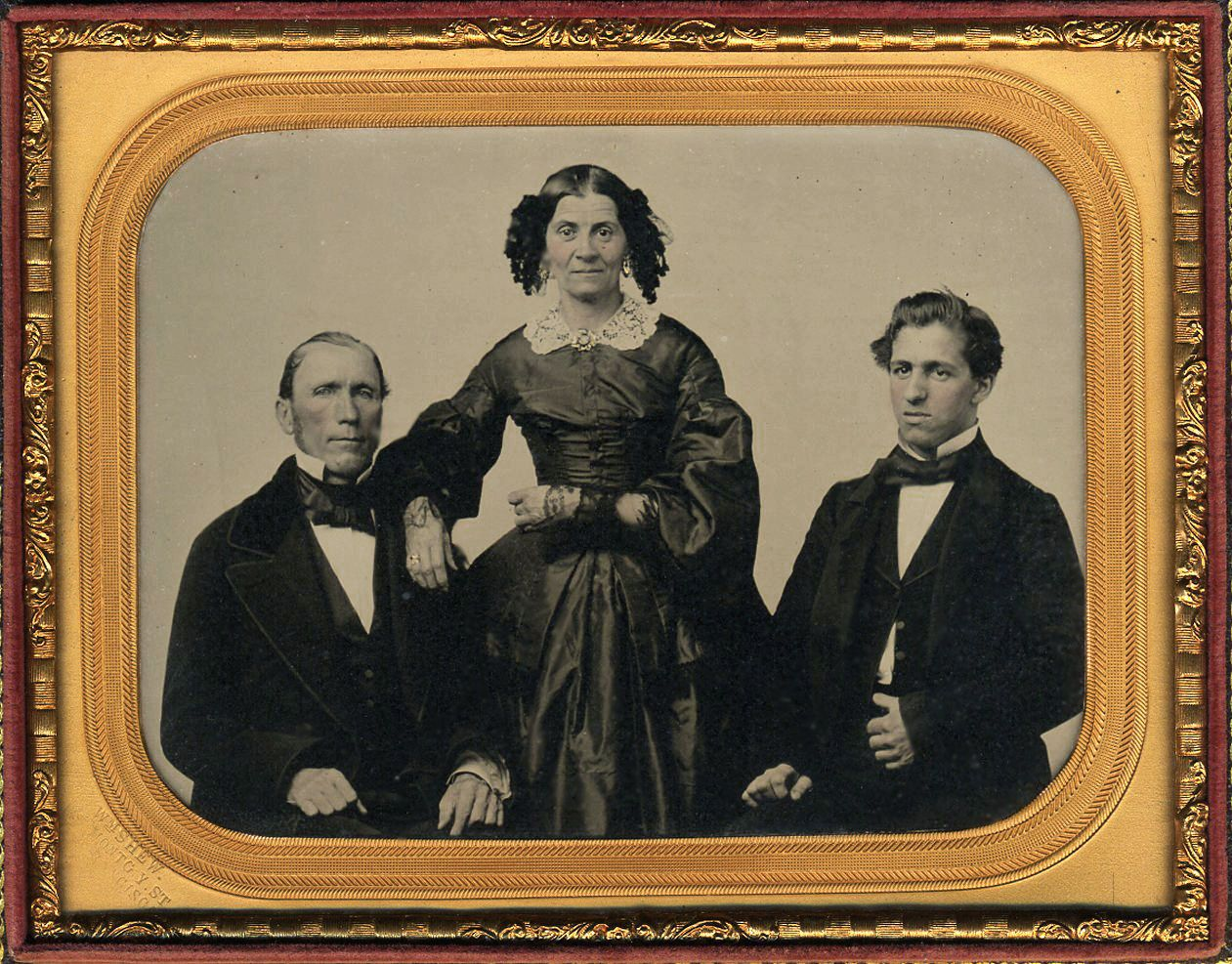 RARE Half PL William Shew California Ambrotype Gillespie Family Eickmeyers Case | eBay