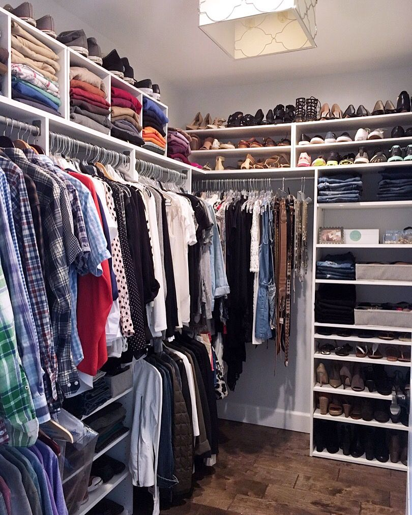 Charmant A Professional Organizer Shares How To Easily Update A Closet Using  Inexpensiveu2026