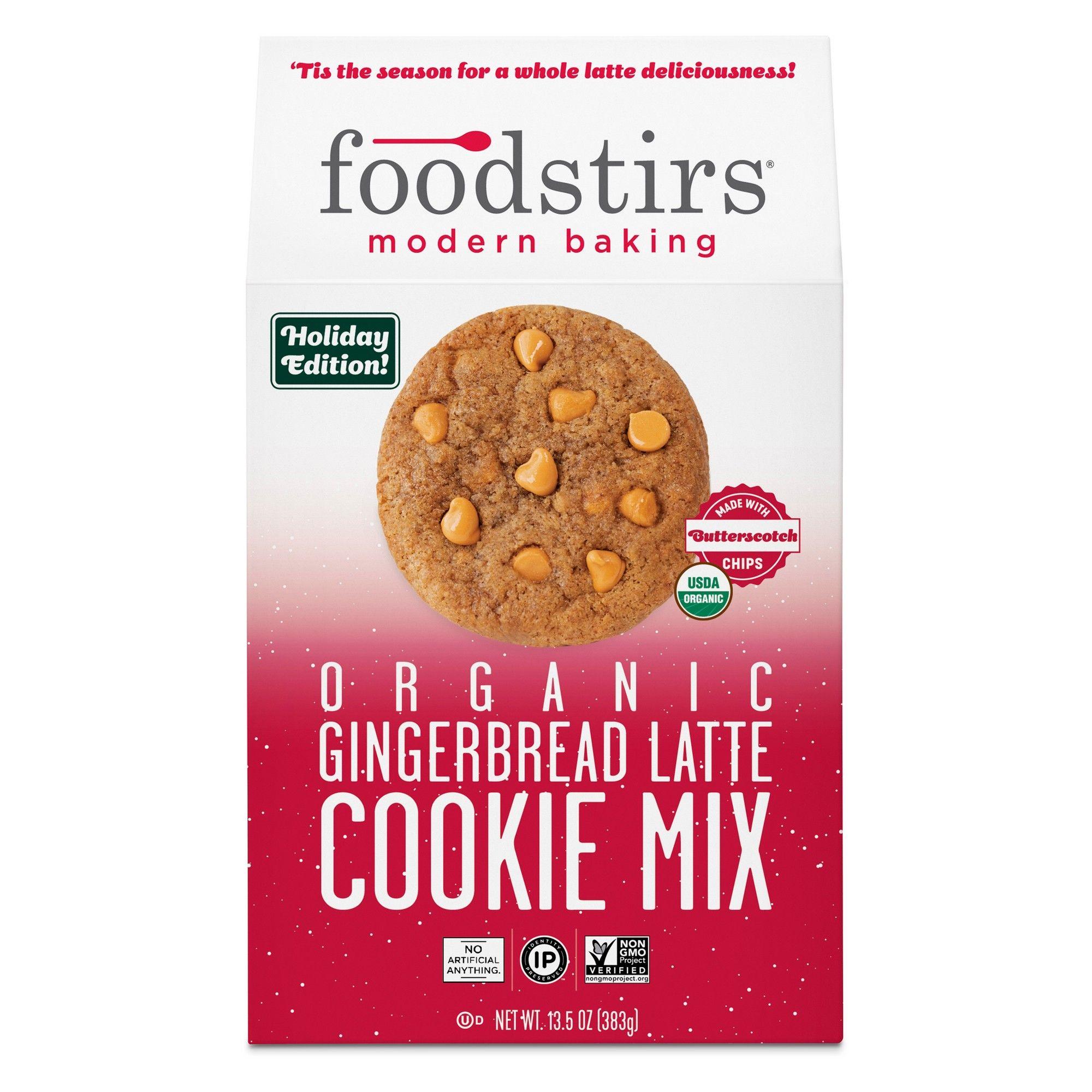 Foodstirs Organic Gingerbread Latte Cookie Mix