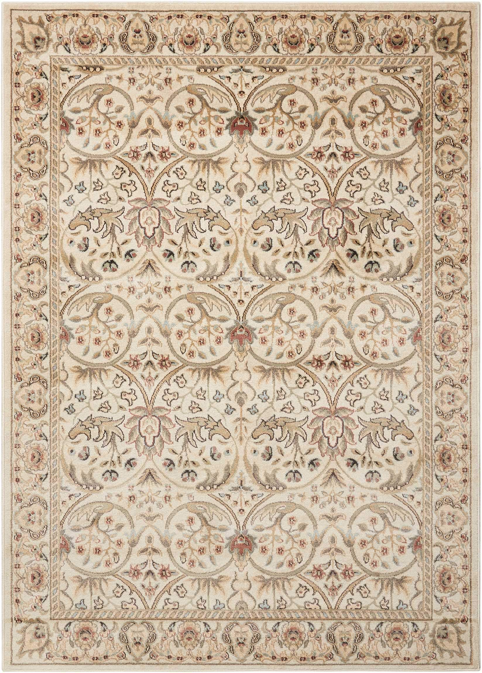 nourison walden ivory area rug traditional design traditional and rh in pinterest com
