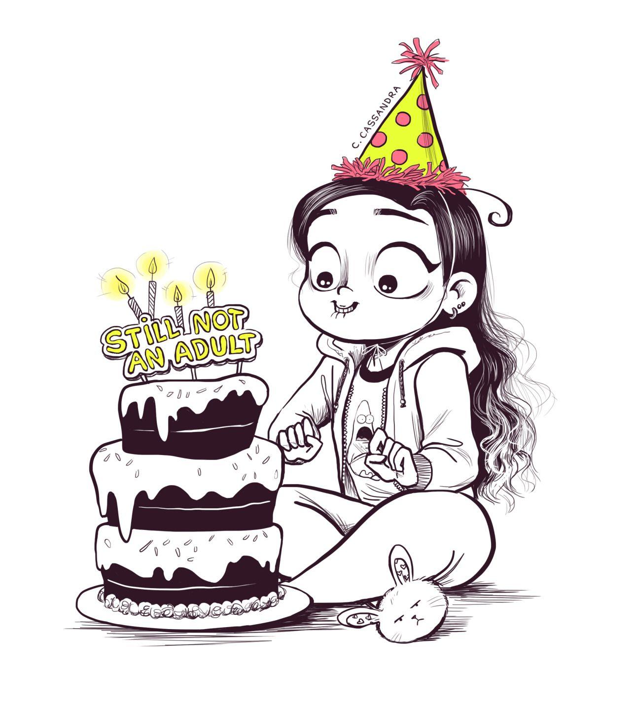 Открытку одноклассниках, картинки для день рождения для девочек для срисовки