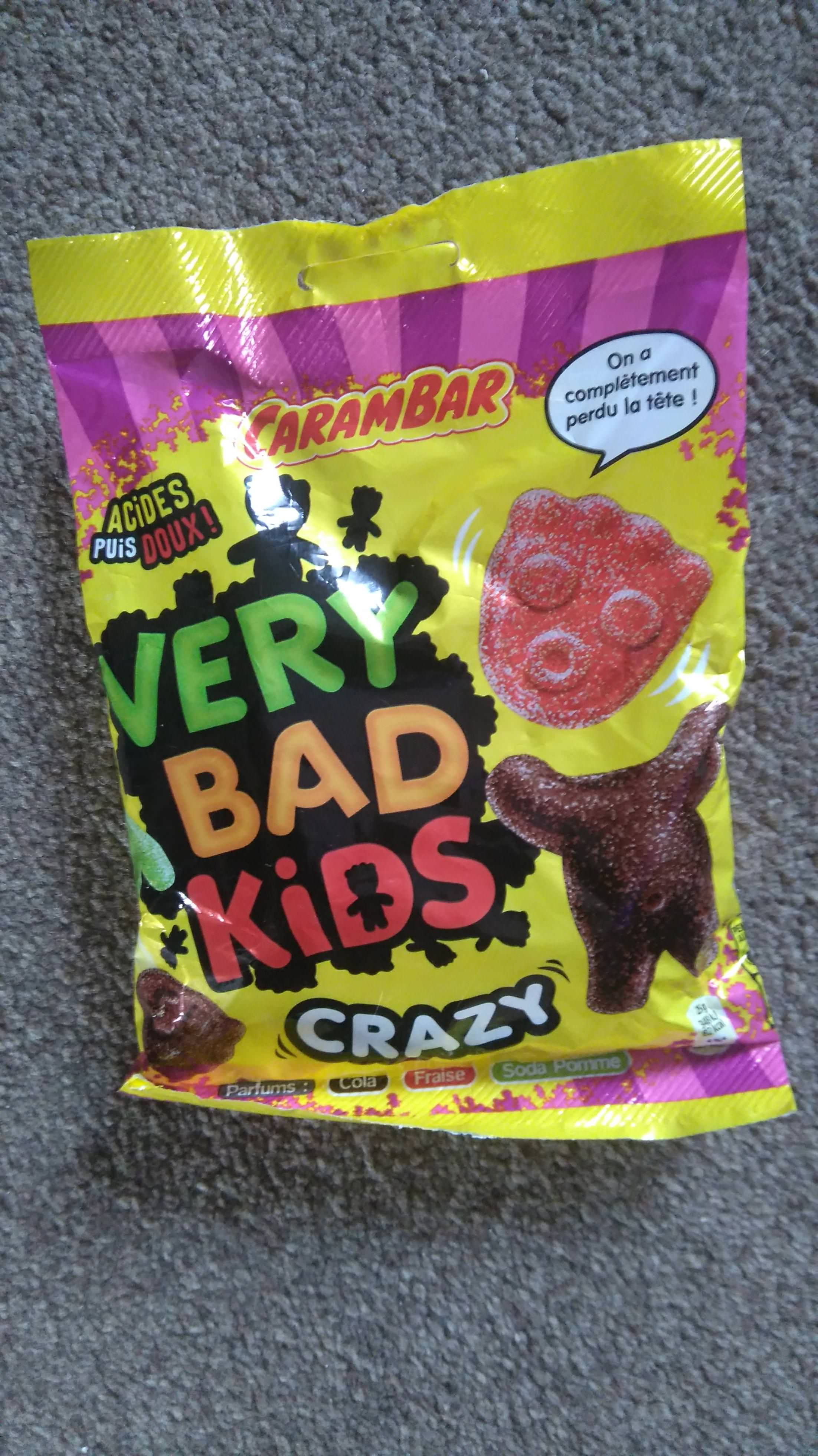 Very Bad Kids Crazy French Version Sour Patch Kids Sour Patch Frozen Kids