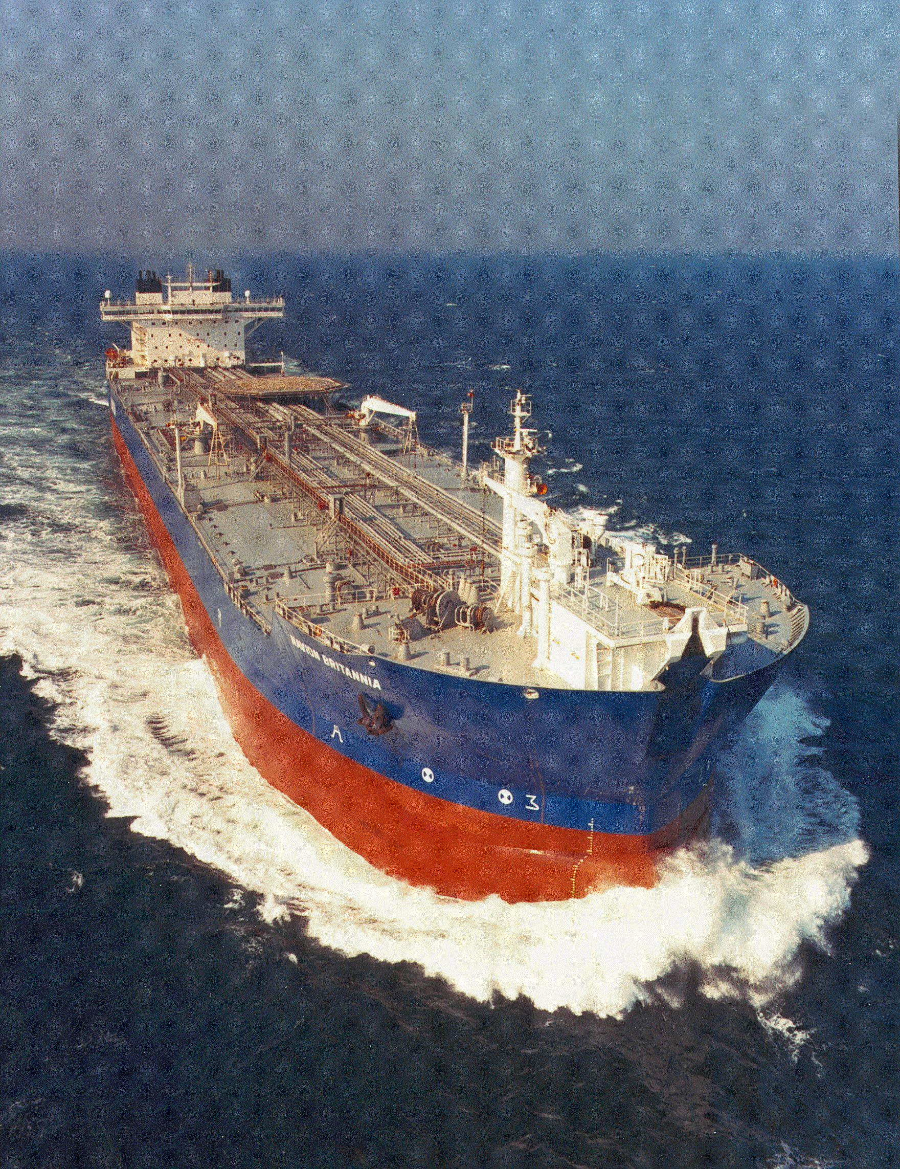 Navion Britannia Shuttle Tanker Tall Ship Then Amp Now