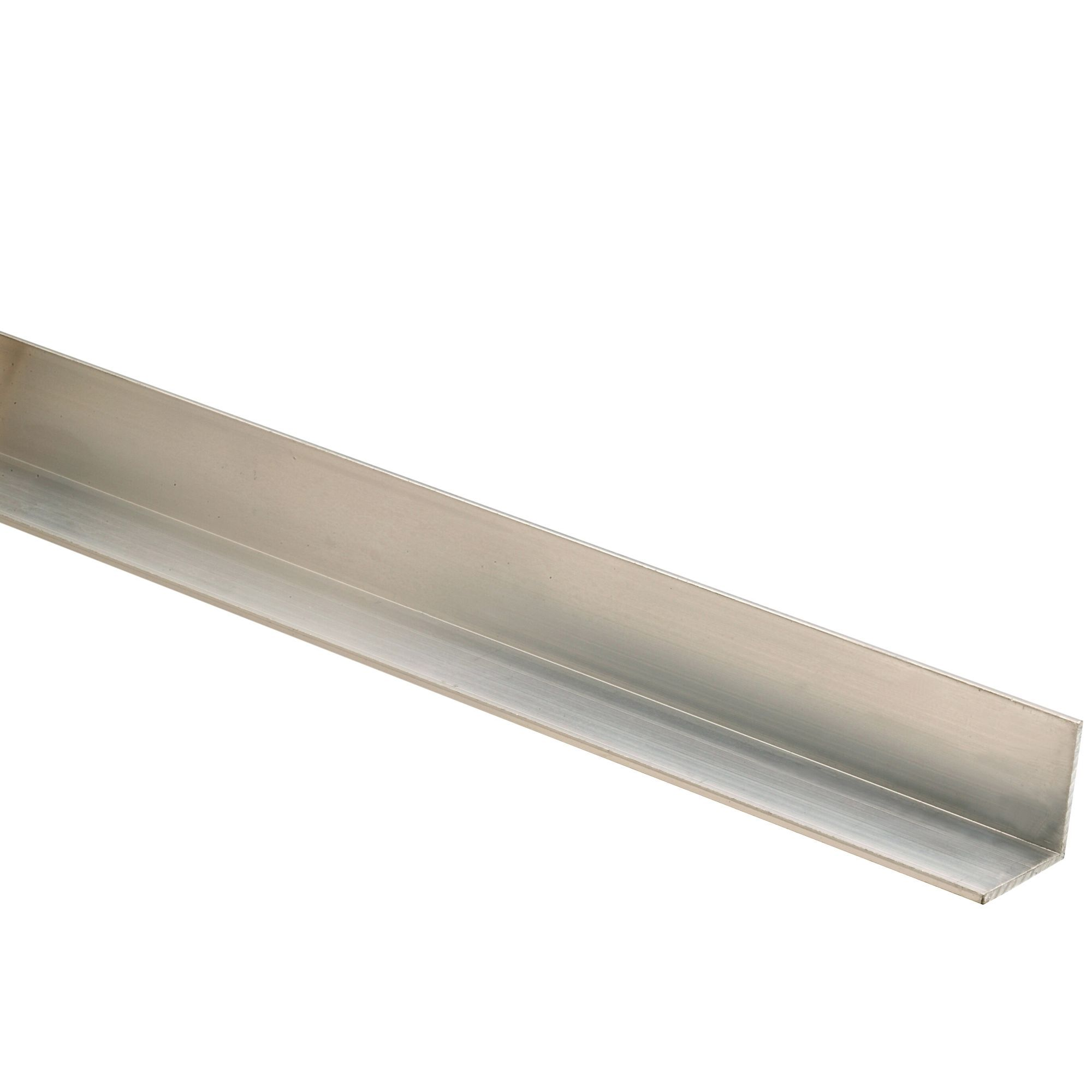 Richard Burbidge Aluminium Angle Moulding (W)18mm (L)2 4m (T)18mm