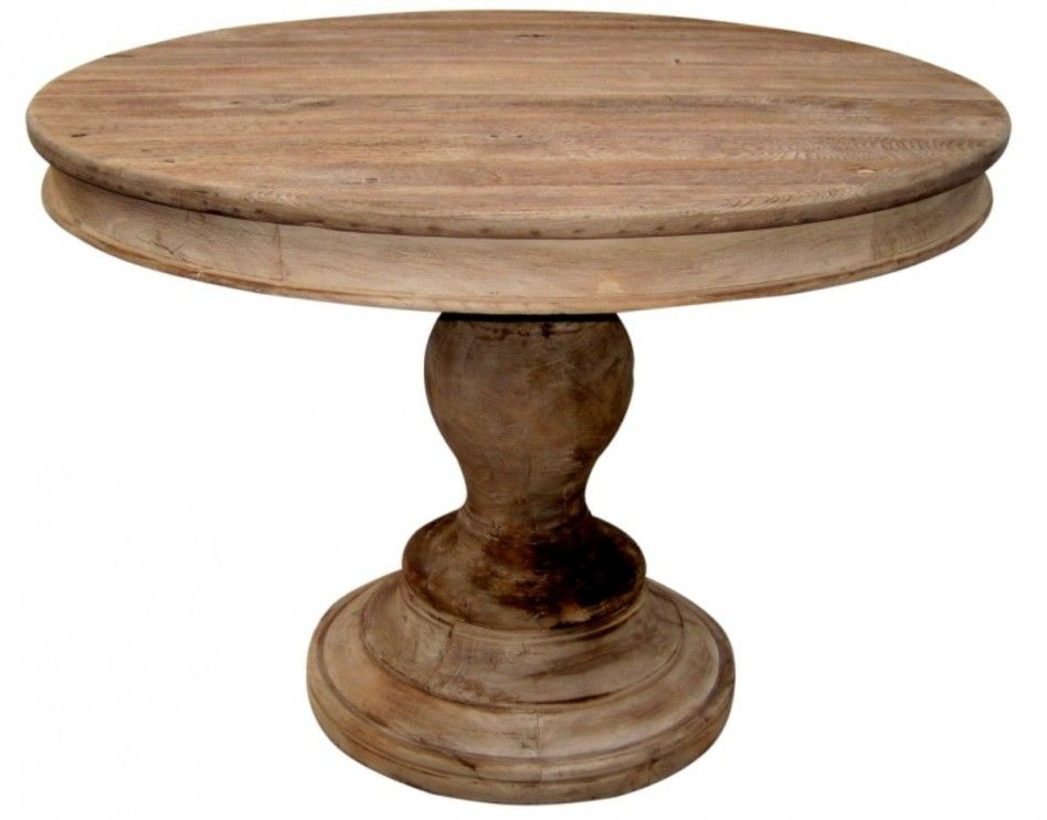 Natural Wood Color Round Table Ideas Come