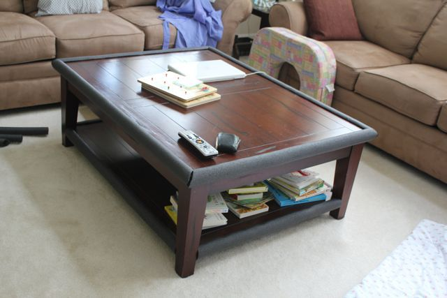 Nice Baby Coffee Table Bumper Wonderful How To Baby Proof Sharp Corners On The  Cheap Of Imposing Baby Coffee Table Bumper