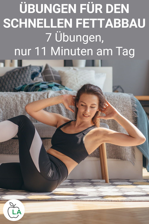 Wie man mit Übungen zu Hause schnell Gewicht verliert