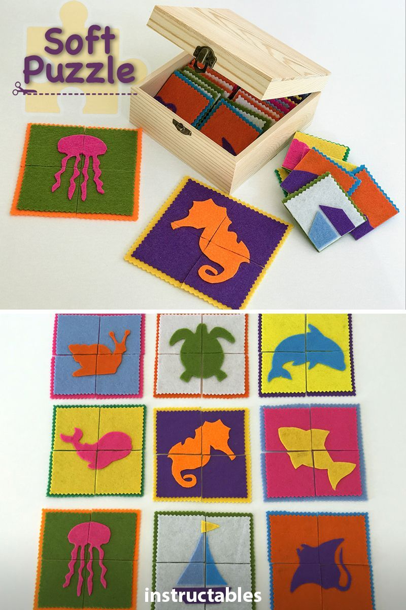 Soft Puzzle Toddler Gifts Diy Foam Crafts Handmade Games