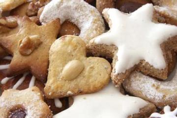 Weihnachtskekse (German Christmas Cookies)