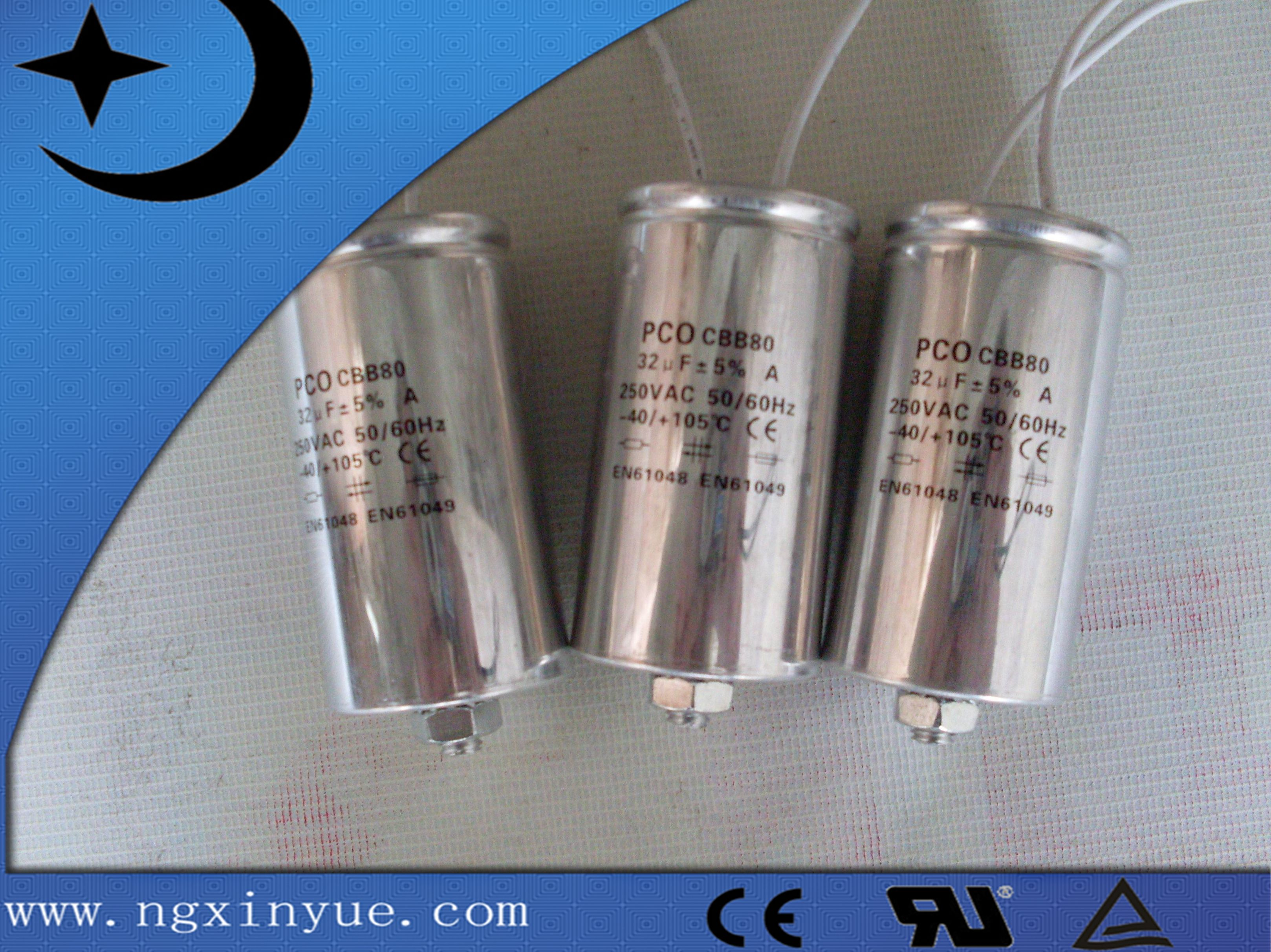 Cbb60 Capacitors Takes Heavy Edge Metallized Al Zn Pp Film Or Web Like Fuse Film As Dielectric Its Components Are Sealed Wit Capacitor Ac Capacitor Capacitors