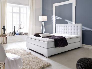 Weiße Schlafzimmermöbel ~ Boxspringbett lisa weiß möbel weiße möbel room