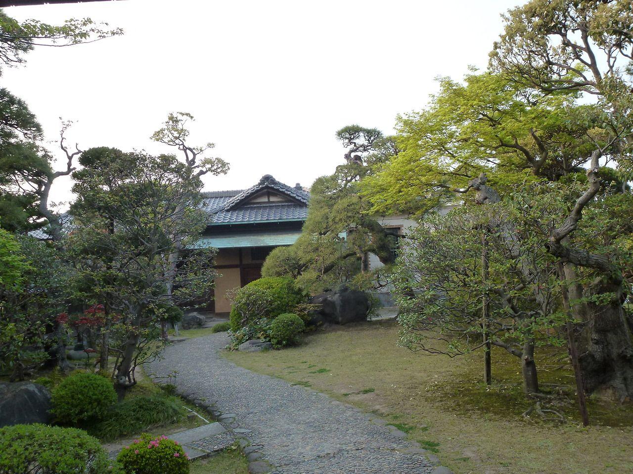 Japanese garden in Shibamata Giardino giapponese