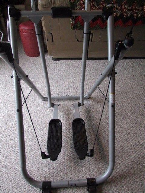 Gazelle Exercise Machine >> Tony Little Gazelle Freestyle Pro Glider Exercise Machine With Dvd