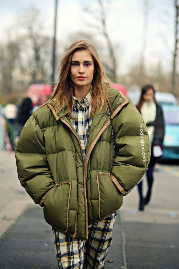 Down Jackets Street Style | lucky 7 | Pinterest | Puffer jackets ...