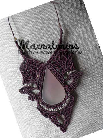 And Macrame Beads: micro-macrame