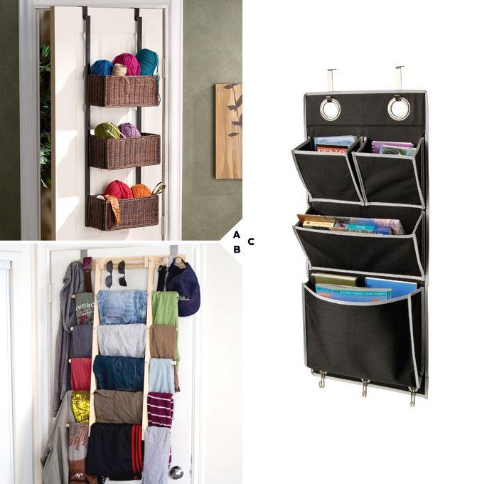 E Saving And Stylish Bedroom Storage Ideas Door Organizers