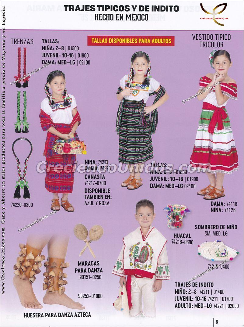ImporMexico #impormexico #catalogoimpormexico trajes tipicos ...
