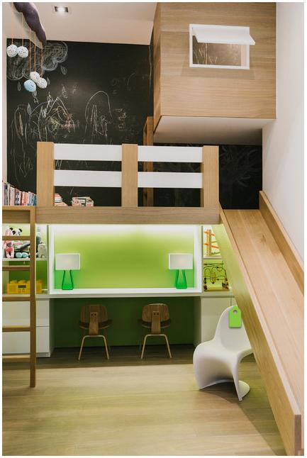 loft bed with slide buddy s room pinterest kids bedroom kids rh pinterest com