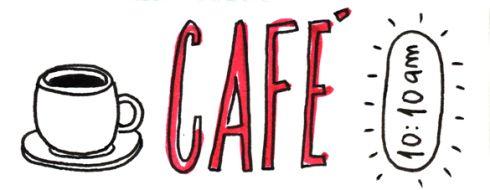 la hora del café (para cubrir mi verdadera adicción: la maldita y deliciosa cocacola)