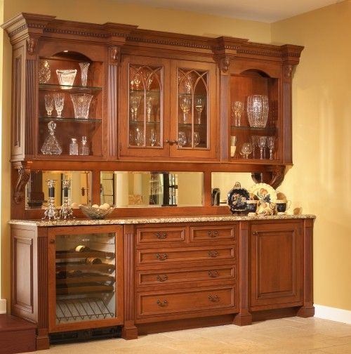Love Cabinetry That Looks Like Furniture!!