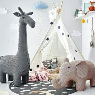 Hocker Giraffe Und Elefant Bei Depot Online Com Erhaltlich Tipi