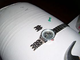 How To Take Links Out Of A Watch Band Using A Push Pin Watch
