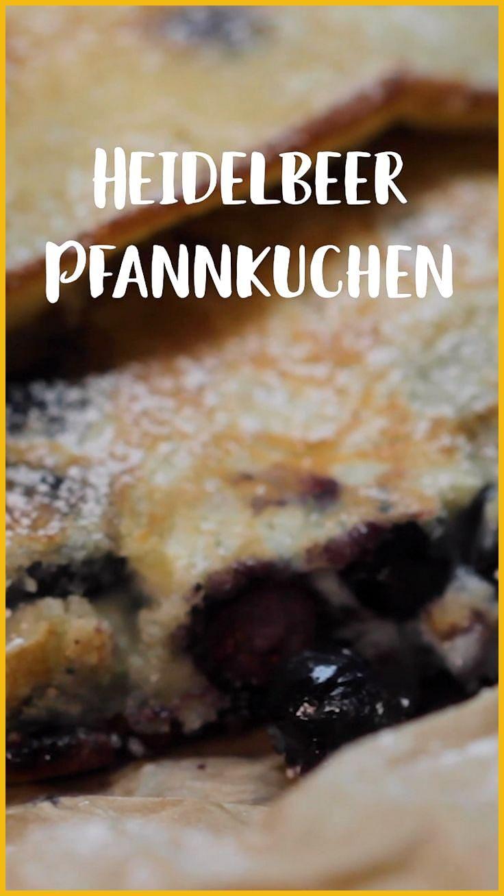 Heidelbeer-Pfannkuchen #Fitness food desserts #Fitness food styling #HeidelbeerPfannkuchen