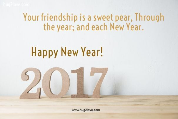 Happy New Year 2018 Quotes : Friendship New Year Quote 2017 | All ...