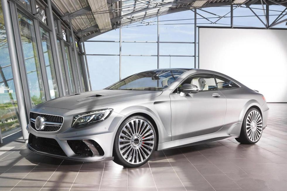 Mansory 900 Horsepower Mercedes Benz S63 Coupe Facelifted Benz