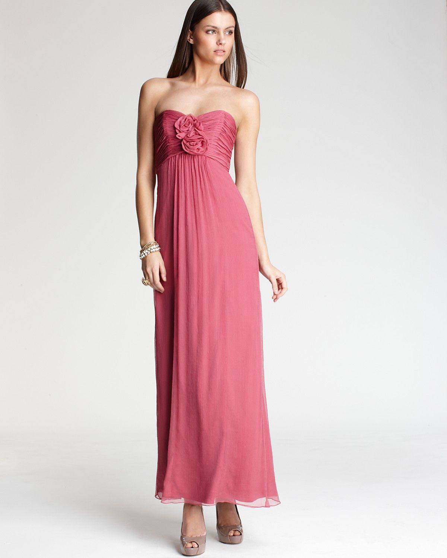 Amsale Strapless Rosette Gown | Bloomingdale\'s | I do.... | Pinterest
