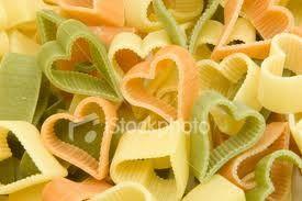 Heart shaped Pasta!