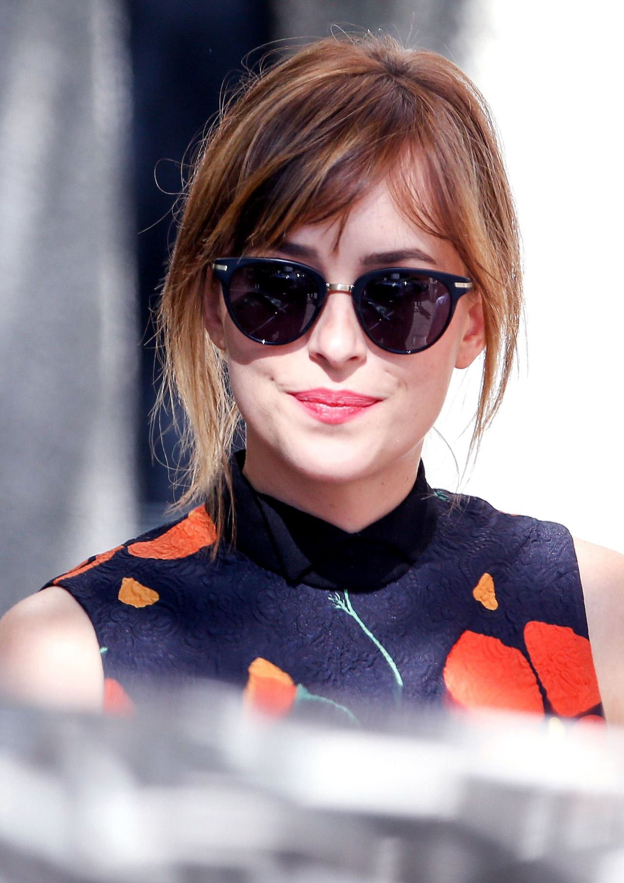 Dakota Johnson at the A Bigger Splash press conference photo call in