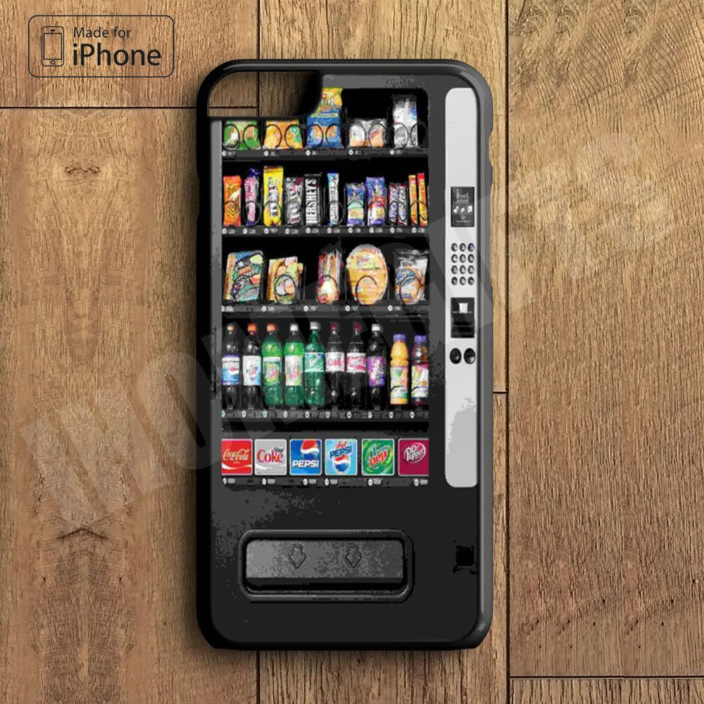 Snack Vending Machine Plastic Phone Case For iPhone 6 Plus