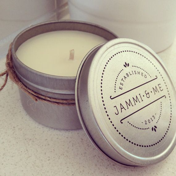 These Tin Candles are nice and compact, they're made with 100% Natural Soy Wax and a single cotton wick. These candles burn for approximately 16-20hrs.