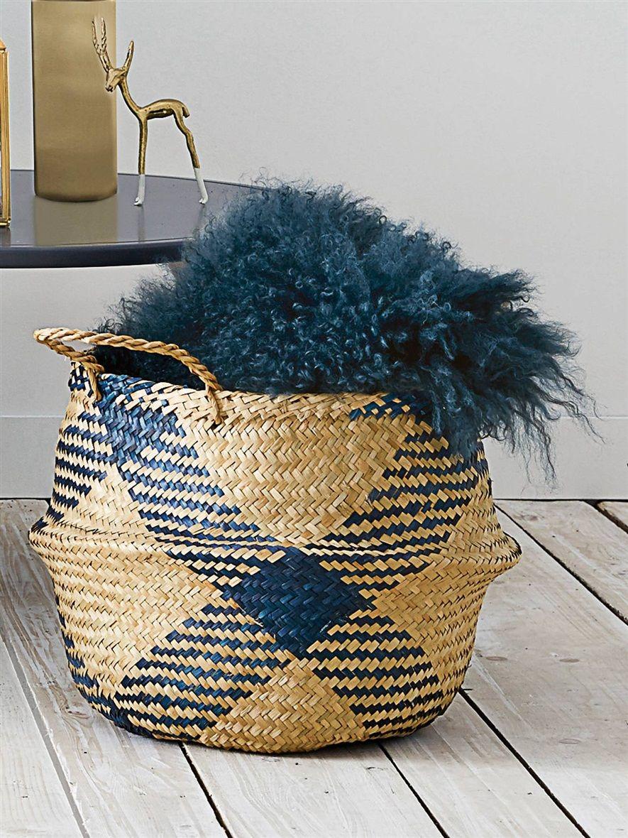 pingl par ans concept sur ans deco pinterest panier tress osier et tresser. Black Bedroom Furniture Sets. Home Design Ideas
