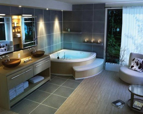 Modern Spa Bathroom Design Ideas Home Improvements