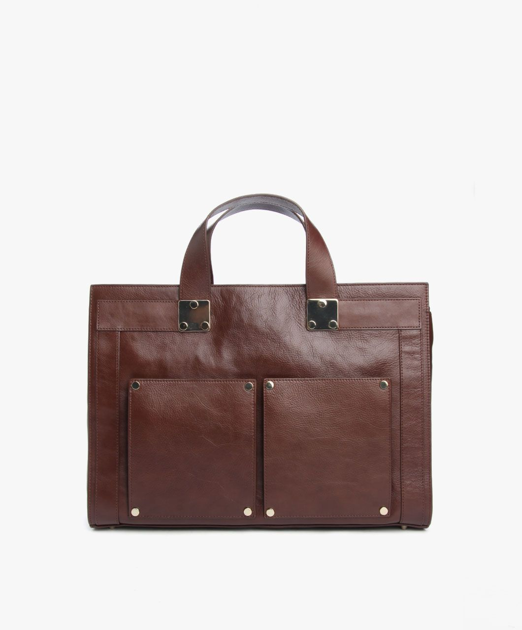 filippa k leather briefcase