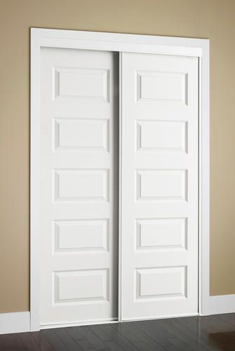 Colonial Elegance Rockport 72 X 80 1 2 Framed Raised Panels Sliding Door